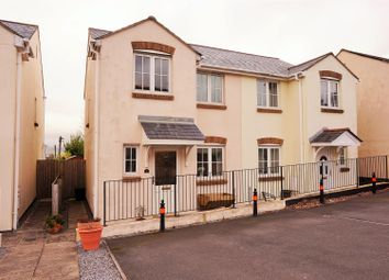 Thumbnail 3 bed semi-detached house for sale in Bishops Close, Saltash