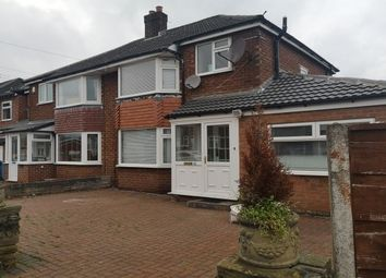 Thumbnail 3 bed semi-detached house to rent in Nursery Road, Cheadle Hulme