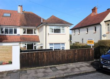 Thumbnail 4 bed semi-detached house for sale in Woodville Road, Newport