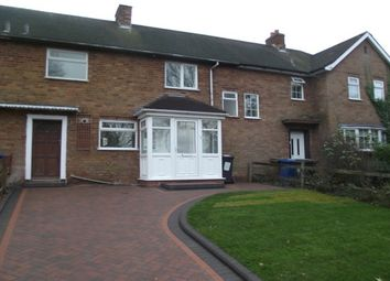 Thumbnail 2 bed terraced house to rent in St. Matthews Road, Burntwood