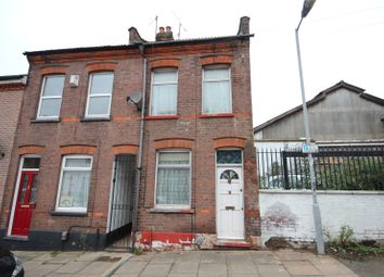 Thumbnail 2 bed end terrace house for sale in Hartley Road, Luton, Beds