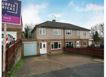 Thumbnail 3 bed semi-detached house for sale in Goddings Drive, Rochester