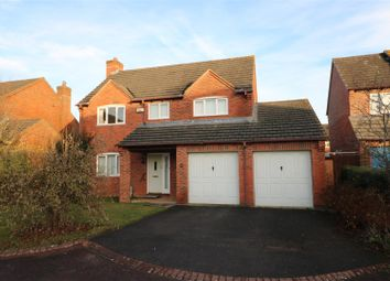 Thumbnail 4 bed detached house for sale in Lovett Close, Staunton, Gloucester