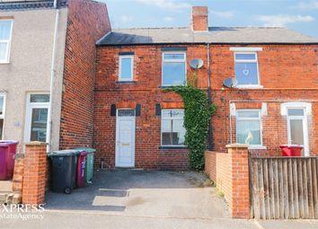 Thumbnail 3 bed terraced house for sale in Haddon Street, Tibshelf, Alfreton, Derbyshire