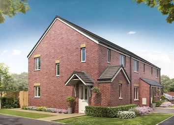 "Thumbnail 3 bed semi-detached house for sale in ""The Hanbury Corner"" at Oxford Road, Calne"