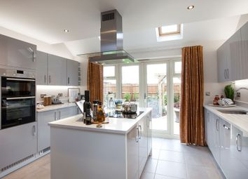 "Thumbnail 4 bed detached house for sale in ""The Berrington"" at Roman Road, Bobblestock, Hereford"