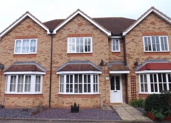 Thumbnail 3 bed terraced house for sale in Meadow Close, Beeston, Sandy, Bedfordshire