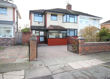 Thumbnail 4 bed semi-detached house for sale in Lydford Road, Liverpool, Merseyside