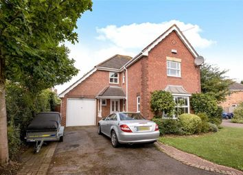 Thumbnail 4 bedroom detached house for sale in Burderop Close, Wroughton, Swindon