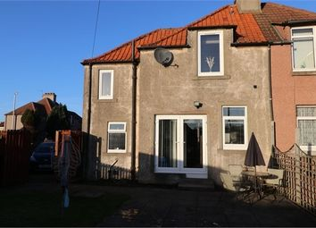 Thumbnail 2 bed semi-detached house for sale in Dunsire Street, Methilhill, Fife