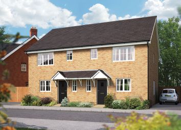 "Thumbnail 3 bed terraced house for sale in ""The Southwold"" at Campton Road, Shefford"