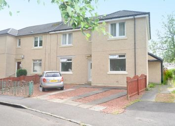 Thumbnail 2 bed flat for sale in Waverley Drive, Wishaw