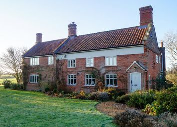 Thumbnail 5 bedroom detached house for sale in Earsham Road, Hedenham, Bungay
