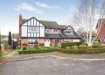 Thumbnail 5 bed detached house for sale in Meadow Bank, Market Drayton