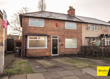 Thumbnail 3 bed terraced house for sale in Lambourn Road, Erdington, Birmingham