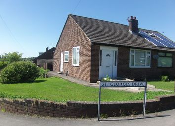 Thumbnail 2 bed semi-detached bungalow for sale in St George Drive, Hyde