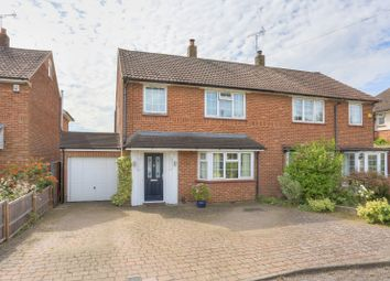 Thumbnail 3 bed semi-detached house for sale in Chiswell Green Lane, St. Albans, Hertfordshire
