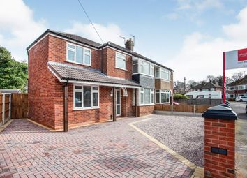 Thumbnail 4 bed semi-detached house for sale in Mona Avenue, Heald Green, Cheshire