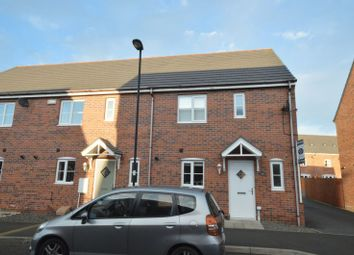 Thumbnail 3 bedroom end terrace house for sale in Cloverfield, Shiremoor, Newcastle Upon Tyne