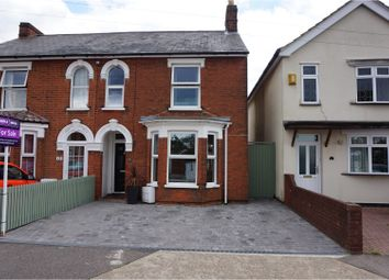 Thumbnail 3 bedroom semi-detached house for sale in Crabbe Street, Ipswich