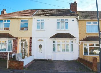 Thumbnail 3 bed terraced house for sale in Hillside Road, Bristol
