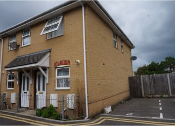 Thumbnail 2 bedroom end terrace house for sale in Hannington Grove, Bournemouth