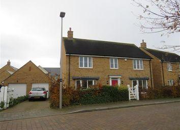 Thumbnail 4 bed detached house to rent in Trafalgar Drive, Brooklands, Milton Keynes
