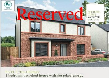 Thumbnail 4 bed detached house for sale in Plot 2 Squirrel Close, Yanwath, Penrith, Cumbria