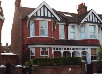Thumbnail 2 bed flat to rent in Motcombe Road, Eastbourne