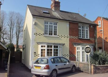 Thumbnail 2 bed semi-detached house to rent in Victoria Mews, St. Judes Road, Englefield Green, Egham