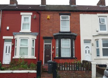 Thumbnail 2 bed terraced house for sale in Kelvin Road, Higher Tranmere Birkenhead