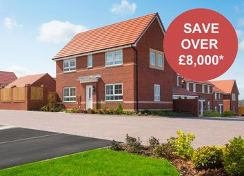"""Thumbnail 3 bedroom end terrace house for sale in """"Ennerdale"""" at Tiber Road, North Hykeham, Lincoln"""