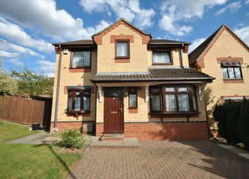 Thumbnail 4 bed detached house for sale in Edrich Way, Chapel Break, Norwich