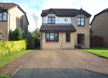 Thumbnail 4 bedroom detached house for sale in Cawder Road, Cumbernauld