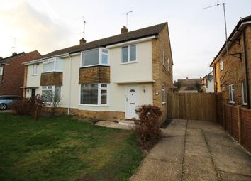 Thumbnail 3 bed semi-detached house for sale in Hildens Drive, Tilehurst, Reading