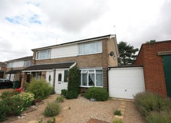 Thumbnail 2 bed semi-detached house for sale in Long Furrow, East Goscote, Leicester