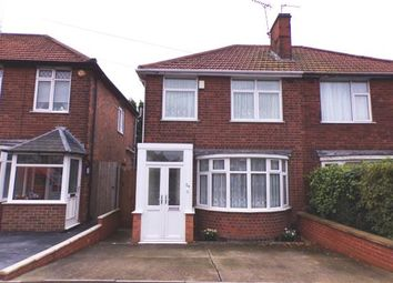 Thumbnail 3 bed semi-detached house for sale in Welcombe Avenue, Braunstone Town, Leicester, Leicestershire
