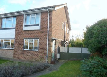 Thumbnail 2 bed flat for sale in Nursery Close, Swanley