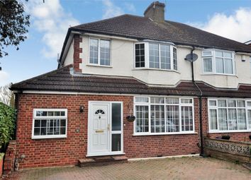 Thumbnail 3 bed semi-detached house to rent in Shortwood Avenue, Staines