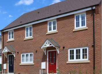 Thumbnail 3 bed mews house for sale in Cottage Lane, Broughton Astley, Leicester