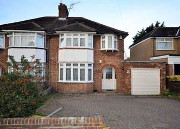 Thumbnail 3 bedroom semi-detached house for sale in Wykeham Hill, Wembley, Middlesex