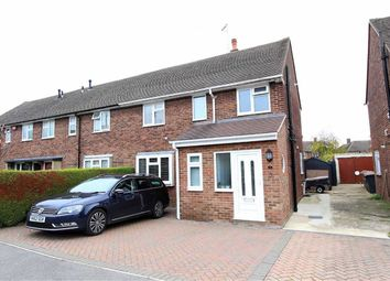 Thumbnail 3 bed end terrace house for sale in Finch Crescent, Leighton Buzzard