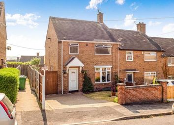 Thumbnail 3 bed end terrace house for sale in Mildenhall Crescent, Bestwood Park, Nottingham, Nottinghamshire