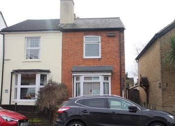 Thumbnail 3 bed semi-detached house for sale in Hythe Park Road, Egham, Surrey