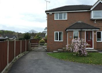 Thumbnail 2 bed semi-detached house to rent in Lea Vale, South Normanton, Alfreton, Derbyshire