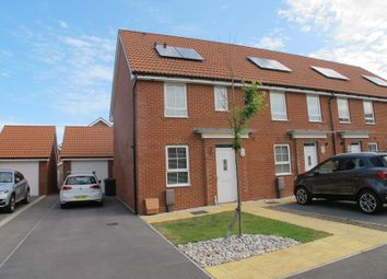 Thumbnail 3 bed end terrace house to rent in Cockerell Close, Lee-On-The-Solent