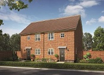 Thumbnail 2 bed semi-detached house for sale in The Street, Bramford, Suffolk