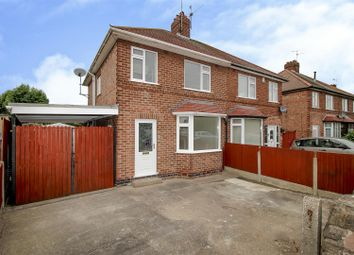 Thumbnail 3 bed semi-detached house for sale in West Crescent, Beeston Rylands, Nottingham