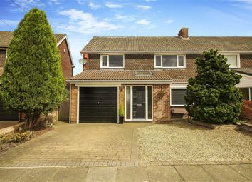 Thumbnail 4 bed semi-detached house for sale in Ridgely Drive, Ponteland, Northumberland