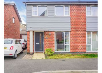 Thumbnail 3 bed semi-detached house for sale in Autumn Way, Beeston, Nottingham